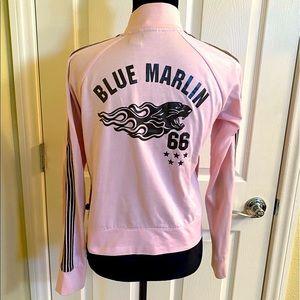 Rare 5 Star Vintage Pink Blue Marlin Track Jacket